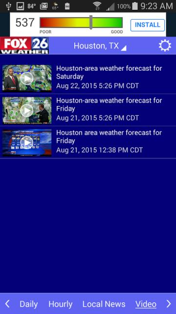 Houston Weather - FOX 26 Radar   Download APK for Android ...