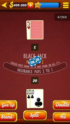 Blackjack 21 online apk