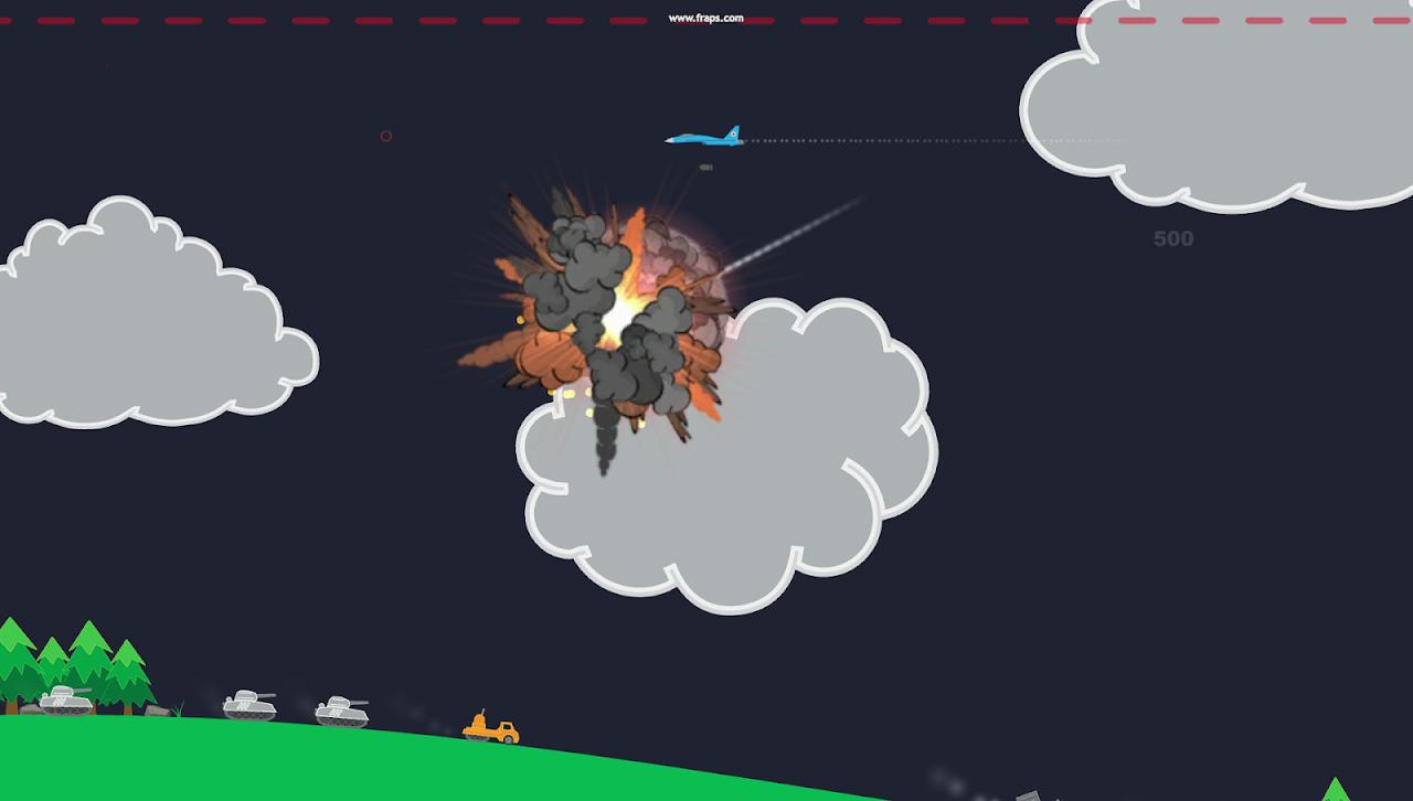 Atomic Fighter Bomber Pro screenshot 1