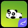 panda theme for cm launcher icon