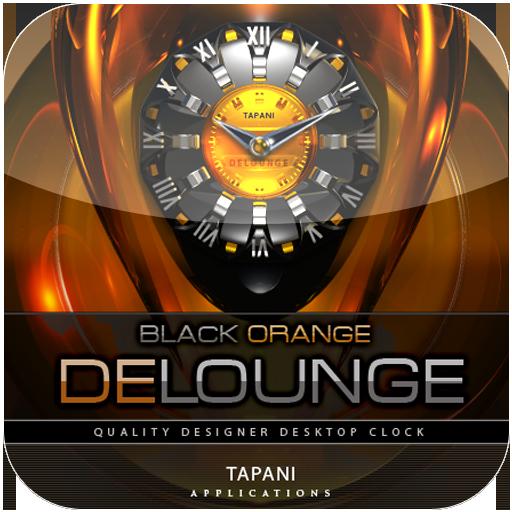 Luxus Clock Widget DE LOUNGE