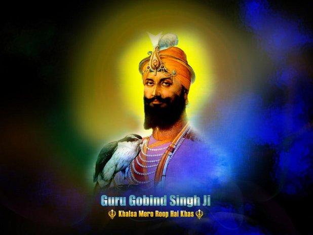 Guru Gobind Singh Ji Wallpaper Screenshot 2