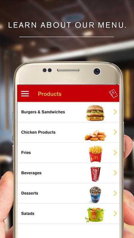 McDonald's App - Caribe screenshot 3