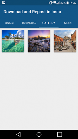 Скачать repost for instagram на андроид.