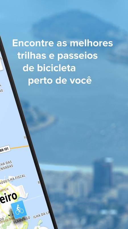 Bikemap - Mapa de Ciclismo e Navegação GPS screenshot 2
