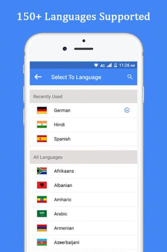 Speak and Translate Voice Translator & Interpreter screenshot 1