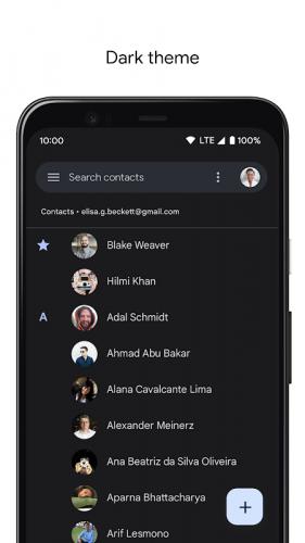 Contacts screenshot 4