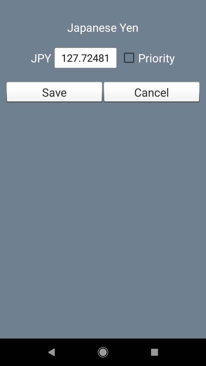 Currency Converter. Exchange rates and calculator screenshot 4