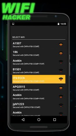 Wifi Hacker Prank 1 6 Download APK for Android - Aptoide
