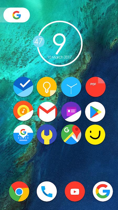 Pixel Nougat - Icon Pack screenshot 2