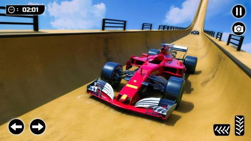 Mega Ramp Formula Car Stunts - New Racing Games screenshot 5