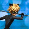 Icône super Miraculous cat noir runner