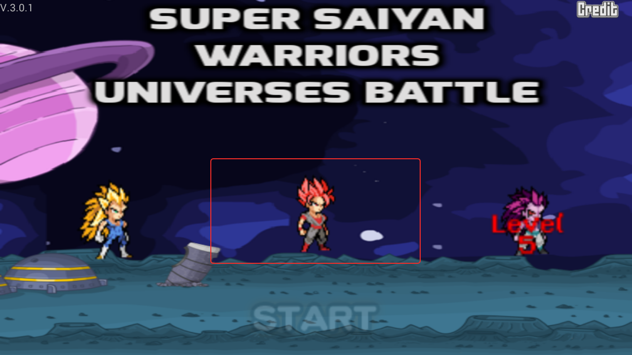 Super Saiyan Warriors - Universe Battle screenshot 2