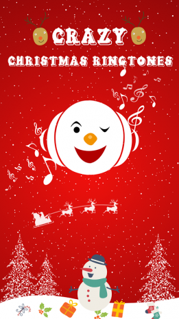 crazy christmas ringtones screenshot 1 - Christmas Ringtones