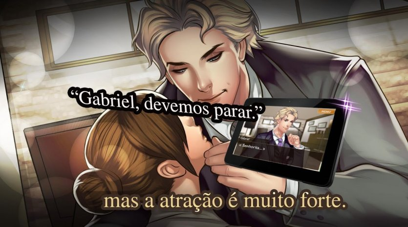 Otome Is It Love Gabriel Histórias De Amor 12166 Baixar Apk