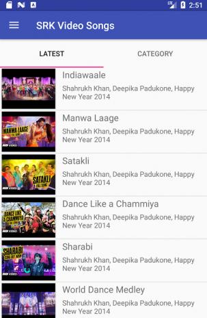 Shah Rukh Khan Video Songs Lyrics 2 0 Download APK for