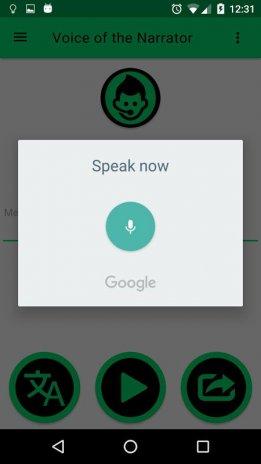 google text to voice apk