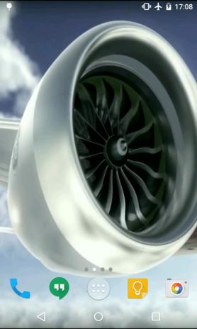 Aircraft Engine Live Wallpaper Screenshot 4
