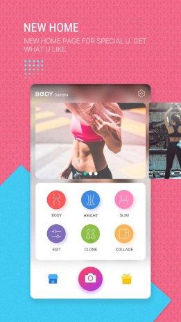 Body Camera Fitness Slim Photo Editor Pro Screenshot 4