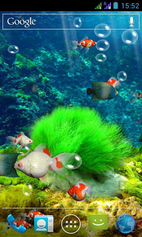Aquarium 3D Live Wallpaper screenshot 1