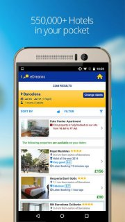 eDreams Cheap Flights & Hotels screenshot 4