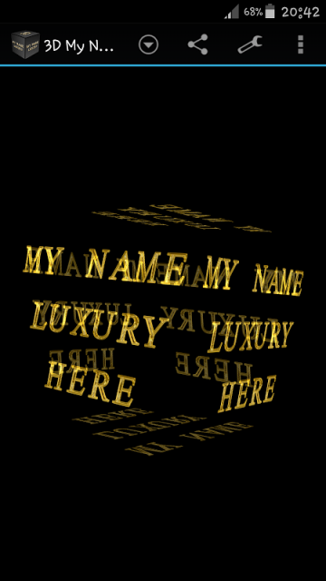 3D My Name Luxury Wallpaper  Download APK for Android  Aptoide