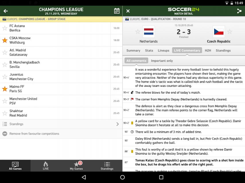 soccer live score 24