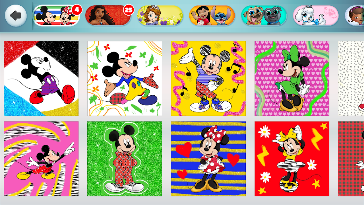 Disney Colouring World - Colouring Games For Kids 7.2.0 Download Android  APK Aptoide
