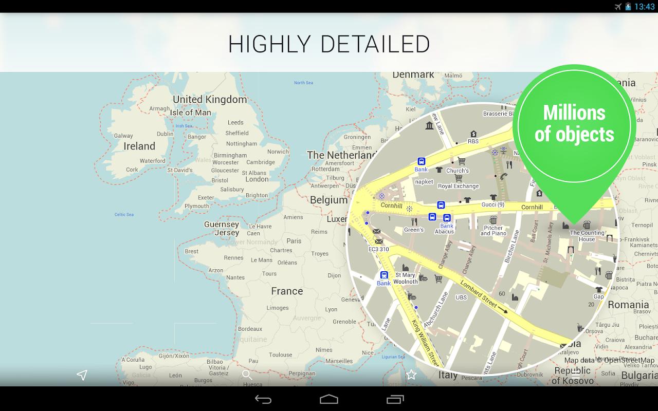 MAPS.ME —Offline Mapas screenshot 2
