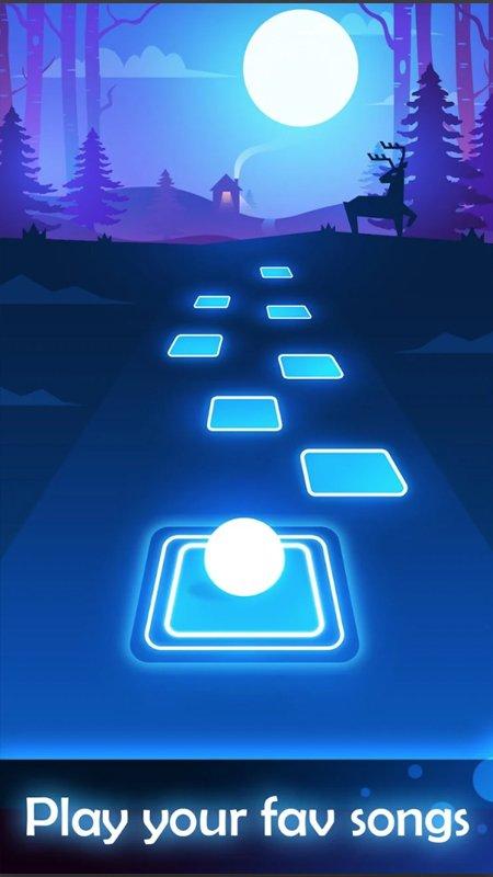 Tiles Hop: Endless Music Jumping Ball New screenshot 2