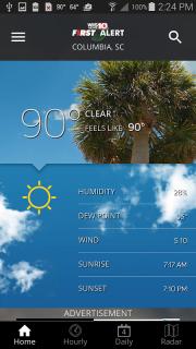 WIS News 10 FirstAlert Weather screenshot 1