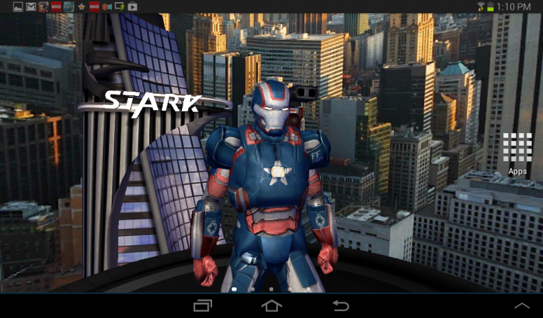 Iron Man 3 Live Wallpaper 128 Download APK For Android