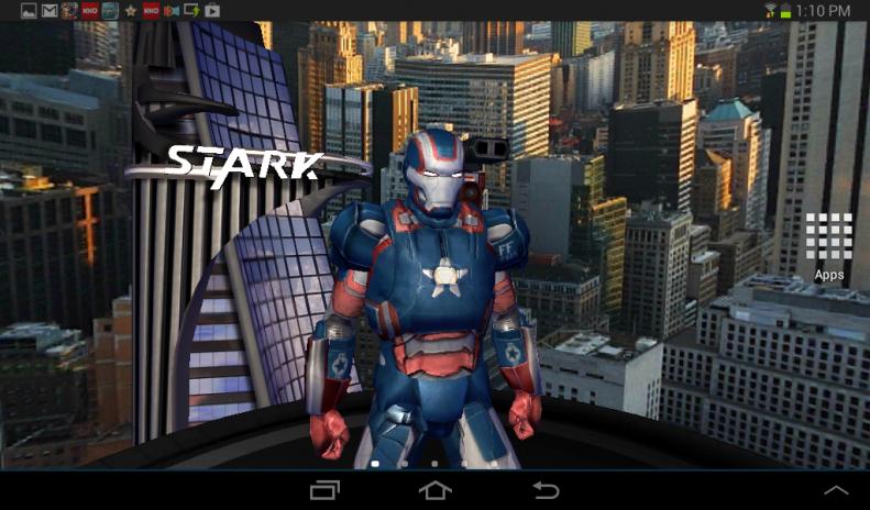 Iron Man 3 Live Wallpaper Screenshot 6