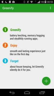 Greenify screenshot 3