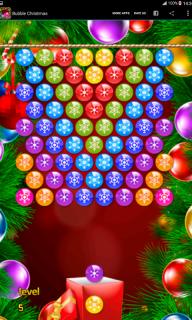 Bubble Christmas screenshot 1