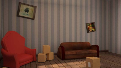 Hello dog of Neighbor screenshot 2