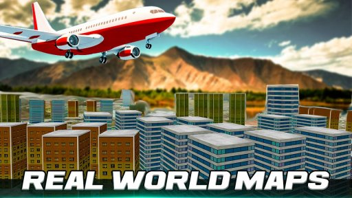 City Flight Airplane Flying Simulator screenshot 8