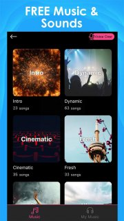 Intro Maker for YouTube - music intro video editor screenshot 4