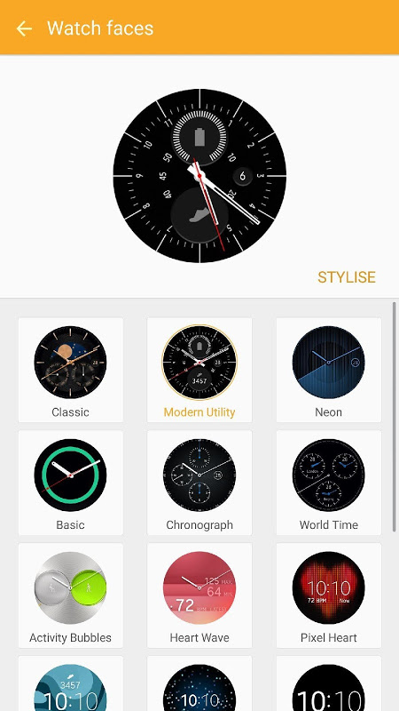 Galaxy Wearable (Samsung Gear) screenshot 2