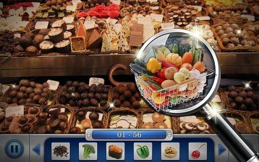 Hidden Objects : Market Mania screenshot 1