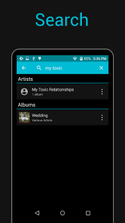 Rocket Player : Music Player screenshot 1