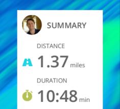 Run with Map My Run + Screenshot