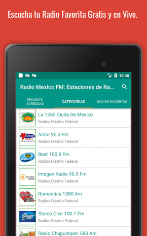 estacion de radio de mexico gratis