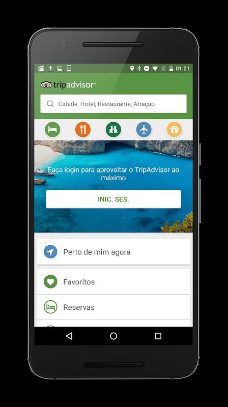 TripAdvisor: hotéis, restaurantes, voos, atrações screenshot 1