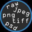 Convertitore di immagine JPG PNG TIF RAW CR2 PDF