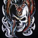 skulls and dragons wallpapers