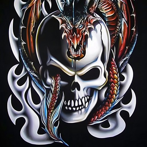 skulls and dragons wallpapers 10.03 Download APK for Android - Aptoide