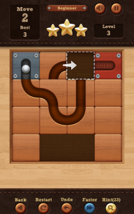 Roll the Ball� - slide puzzle screenshot 2