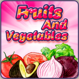 Fruit vegetables learning apps for kids fun games Icon
