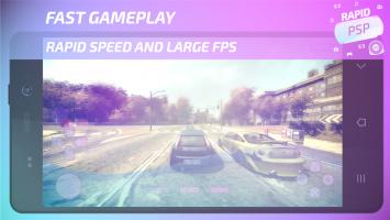 Rapid Emulator for PSP Screen
